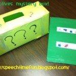 Adjectives Mystery Box