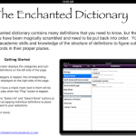 Introducing! The Enchanted Dictionary App!