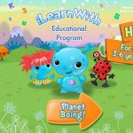 i Learn With – Planet Boing! HD App Giveaway!