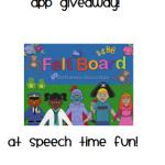 Felt Board App Giveaway!