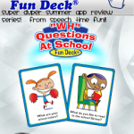 """Introducing: """"Wh"""" Questions at School Fun Deck App"""