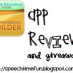 Conversation Builder App Review & Giveaway