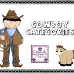 Cowboy Categories- Freebie!