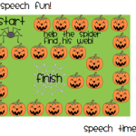 Spooky Speech Fun!