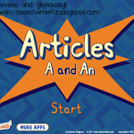 Articles: A & An…Review & Giveaway!