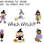 Halloween Listening for Details Activities!