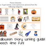 My Halloween Story- Writing/Telling Guide