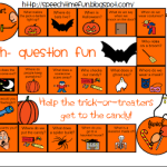 Halloween Wh- Board Game (Freebie)