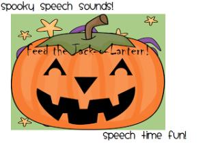 Spooky Speech Sounds!