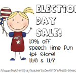 Election Day Sale!