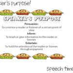 Speaker's Purpose!
