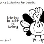 Thanksgiving Listening for Details!