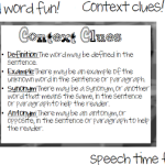Wild Word Fun! Context Clues!