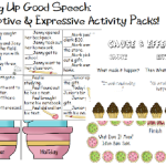 Baking Up Good Speech: Receptive & Expressive Language Packets!