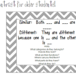Compare & Contrast for Older Students!