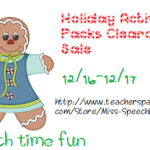 Holiday Pack Clearance Sale!