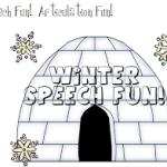Winter Speech Fun!