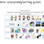 My Winter Storytelling/Writing Guide!
