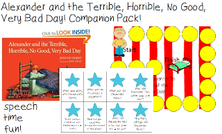 Alexander and the Terrible, Horrible, No Good, Very Bad Day! Companion Pack!