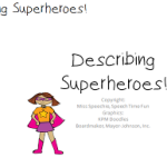 Describing Superheroes!