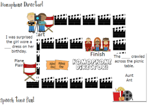 Homophone Director! Freebie!