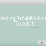 Introducing: Reading Rehabilitation Toolkit App!