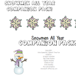 Snowmen All Year Companion Pack!