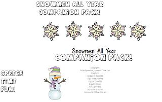 Snowmen All Year Companion Pack!