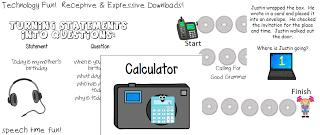 Technology Fun!  Receptive & Expressive Downloads!