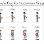 Birthday Celebration Day #5: Articulation Freebie & Giveaway!