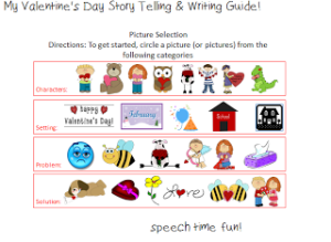 My Valentine's Day Story Telling & Writing Guide