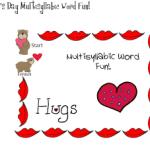 Valentine's Day Multisyllabic Words Fun!