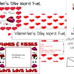 Valentine's Day Word Fun!