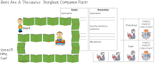 Boris Ate A ThesaurusStorybook Companion Pack!
