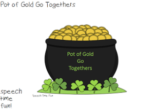 Pot Of Gold Go Togethers FREEBIE!