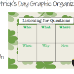 St. Patrick's Day Graphic Organizers FREEBIE!
