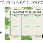 St. Patrick's Day Graphic Organizers FREEBIE!