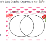Valentine's Day Graphic Organizers for SLPs FREEBIE!
