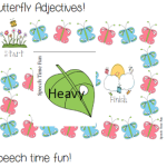 Butterfly Adjectives! ((freebie))