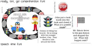 Ready, Set, Go! Comprehension Fun!