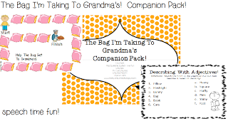 The Bag I'm Taking To Grandma's Companion Pack!!