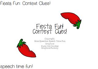 Fiesta Fun: Context Clues!
