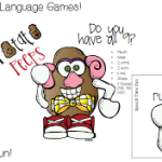 Potato Peeps Language Games!! 5-in-1!! ((plus a giveaway!))