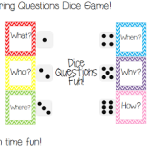 Answering Questions Dice Game! ((and giveaway!))