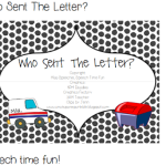 Who Sent The Letter?!