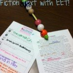 More uses of EET!!  Understanding Non-Fiction Texts & Creative Writing!