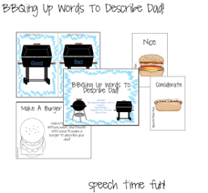 BBQing Up Words To Describe Dad!