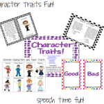 Character Traits Fun!