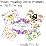 Expanding Vocabulary Graphic Organizers for the Entire Year! (EET Companion!)
