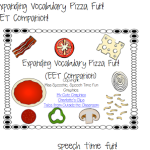 Expanding Vocabulary Pizza Fun: EET Companion!